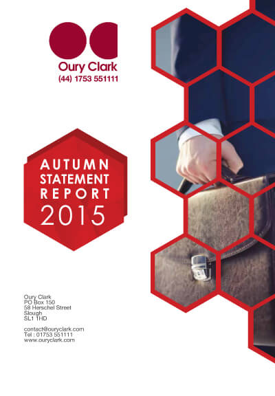 Autumn Statement Report 2015