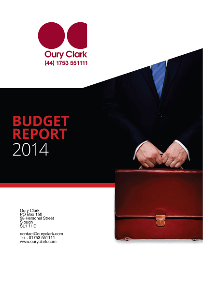 Budget Report 2014
